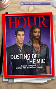 Platinum hour magazine without male Raleigh