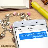 Logan Text Message Sneak Peek
