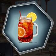 Platinum refreshing cocktail