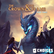 The Crown & The Flame. Book 3 promo