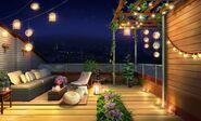 Dorm Rooftop (night)