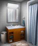 TE MC's dorm suite bathroom