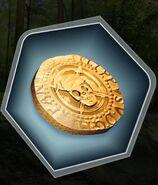 TE MC's Gold Pirate Coin