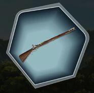 Tuh hunting rifle