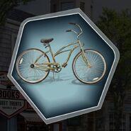 Wabr rusty old bike