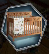 TRH Rustic Crib