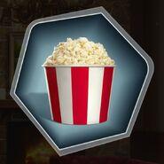 Movie tub popcorn