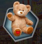 Weh carnival teddy bear