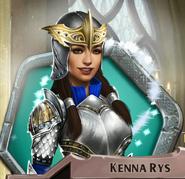 Kenna Dragon Armor Magic Activated