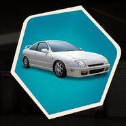 White two door coupe car sedan basic