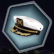 Trr3 captain hat sailor admiral