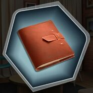 Hc mc journal scrapbook new