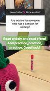 Writing Advice. 02-01-19
