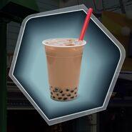 Boba bubble tea drink
