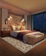 Nightimebedroominpenthouse