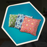 TJ Pillow Decoration