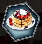 RoD dad breakfast waffles
