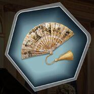 D&D Annabelle Parsons's ornate fan