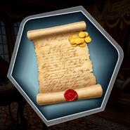 DS fancy letter