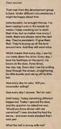 It Lives Beneath Letter 6