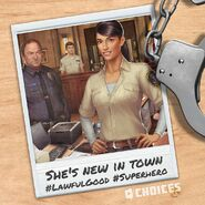 Naomi the new deputy