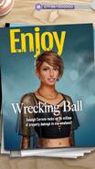Female Raleigh on Enjoy Weekly Magazine