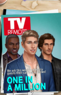 Male Raleigh & Avery on TV Remote Magazine Cover