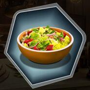 Salad vegetables bowl green
