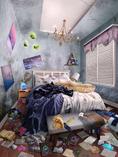 Gemma's Thrashed Room In Elise Goeffe's Home