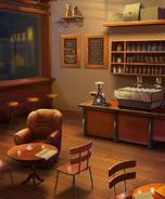 HU Coffee shop Night
