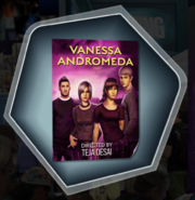 Vanessa Andromeda Supernatural Detective Poster