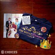 PB The Royal Romance merch sneak peek