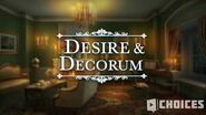 Desire & Decorum - Arrival to Edgewater