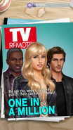 Female Avery & Male Raleigh on TV Remote Magazine Cover