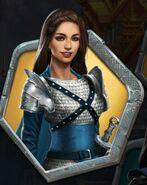 Kenna in Silver Armor