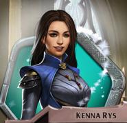 Kenna magic activated