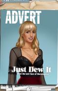 Alternate MC in Just Dew It Advert in Ch.9