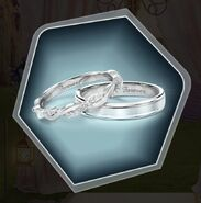Ame3 wedding rings