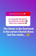 TheSeniorisfonalbookinTFseries