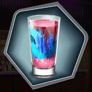 Shot glass Sugar slush Cocktail drink