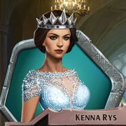Kenna Winter Gown Crowned
