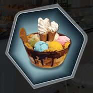 Ice cream sundae dakota special