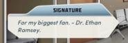 Alternateautographfrom Dr.EthanRamseyonhisownbookforMC