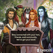 Choices twitter 052920 blades cast mental health