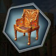 Hc fairytale photoshoot throne