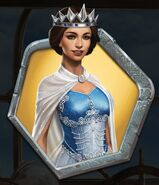 Regal Blue Gown (New)