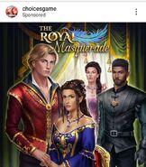 The Royal Masquerade IG Ad 2