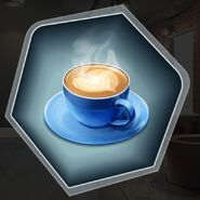 Coffee cappuccino cup