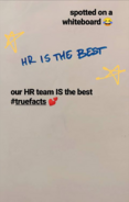 PB's HR team is the best as of 04-05-2019