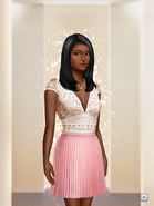 RCD F1 PLeated Pink